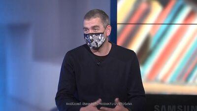 Rajevskis: Neaiziet uz skolu ir traumējošāk, nekā uzvilkt masku skolā