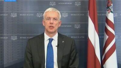 Ministru prezidenta paziņojums preses konferencē pēc MK sēdes