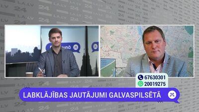 Viesturs Kleinbergs par ceļu sakārtošanu Rīgā