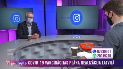 Skatītājs jautā: kas notiks, ja cilvēks saslims ar Covid-19 pēc pirmās vakcīnas devas saņemšanas?