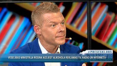 Jānis Jenzis par rosinājumu aizliegt alkohola reklamēšanu medijos