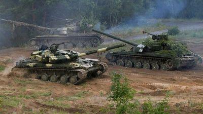 Krievija ievērojami palielinājusi tanku skaitu pie Ukrainas robežas