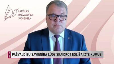 Pašvaldību savienība lūdz skaidrot labklājības ministra Eglīša izteikumus