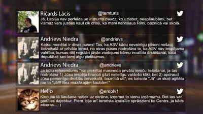 Tvitersāga: Drošība Latvijā