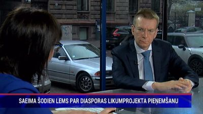 Ministram jābūt politiķim nevis diplomātam, uzskata Rinkēvičs
