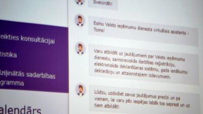 Marnauza: Virtuālā konsultanta Toma atbildes nevar ņem par pamatu strīdam ar VID