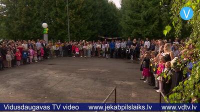 Jēkabpils 3.vidusskolā mācību gadu uzsāk 658 skolēni