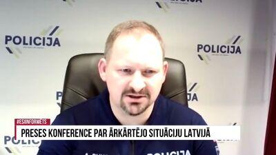 Speciālizlaidums: Preses konference par ārkārtējo situāciju Latvijā