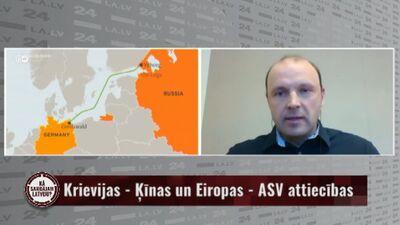 """Rostoks: Ar """"Nord Stream 2"""" Vācija vēlas saglabāt civilizētas attiecības ar Krieviju"""