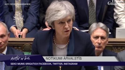 """Meja zaudē balsojumā par """"Brexit"""" vienošanos"""