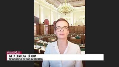 Iveta Benhena-Bēkena komentē 2022. gada budžetu