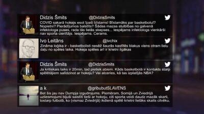 Tvitersāga: Sporta aktivitāšu ierobežojumi