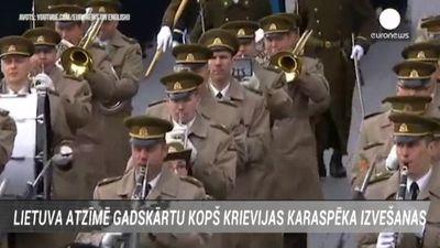 Lietuva atzīmē gadskārtu kopš Krievijas karaspēka izvešanas