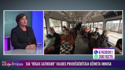 Innusa: Biļešu kotrolieri sāks aicināt izkāpt no transporta pasažierus bez sejas maskām