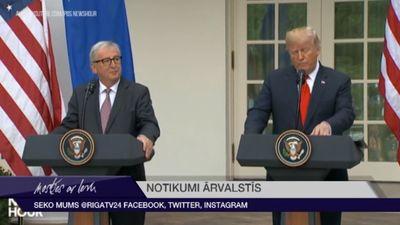 ASV pazeminājušas ES vēstniecības diplomātisko statusu