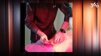Fizioterapeits ārstniecībā izmanto pat nažus!