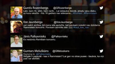 Tvitersāga: Rammstein piedārdina Rīgu