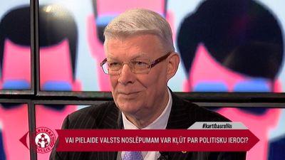 """Zatlers: """"Latvijā ir par daudz valsts noslēpumu"""""""