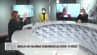 Ainārs Ērglis par mediju un valdības komunikāciju Covid-19 krīzē