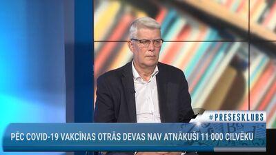 Valdis Zatlers vērtē vakcinācijas procesu Latvijā