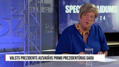 Speciālizlaidums: Valsts prezidents aizvadījis pirmo prezidentūras gadu