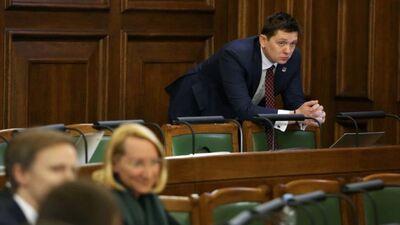"""Kaimiņa radītā """"KPV LV"""" partija faktiski vairs nav, norāda Kučinskis"""