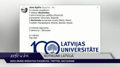 Tvītotāji par Mužnieka neapstiprināšanu LU rektora amatā