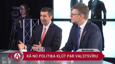 Vjačeslavs Dombrovskis stāsta, kā kļuva par politiķi