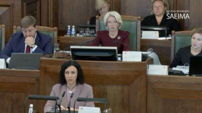 Šuplinska: LU rektora vēlēšanas nebija leģitīmas