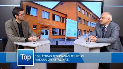 Ivars Šķinčs par izglītības iegūšanas iespējām Daugavpils 17. vidusskolā
