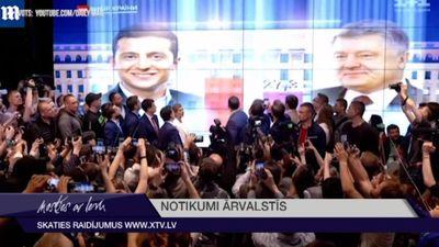 Ukrainas prezidenta vēlēšanās uzvarējis Volodomirs Zelenskis