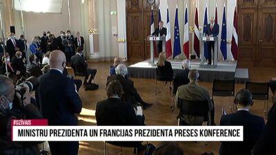 Andra Sprūda komentārs par Francijas prezidenta un Ministru prezidenta preses konferenci
