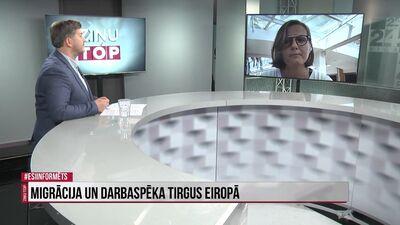 Zanda Martens par migrāciju un darbaspēka tirgu Eiropā