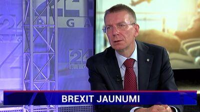 Ārlietu ministrs par jaunāko informāciju Brexit jautājumā