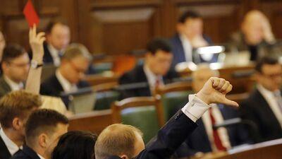 Strautiņš: Budžeta apspriešana ir visizsmalcinātākais politikas teātris. Reirs ir izcils tā vadītājs