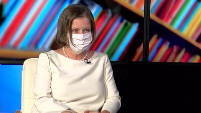 Olsena: Tas ir bīstami, ka ārsti publisku komunikāciju jauc ar virtuves sarunām