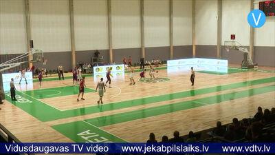 Jēkabpils sporta hallē aizvadītas pirmās aktivitātes
