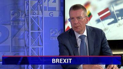"""""""Laika ir maz un situācija ir sarežģīta"""" - Rinkēvičs par Brexit sarunām"""