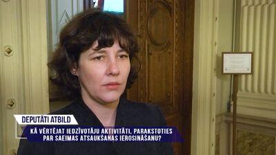 Deputāti atbild par Saeimas atsaukšanas ierosināšanu