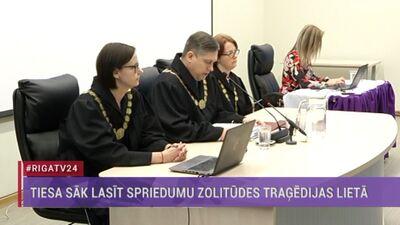 Tiesa nolasa spriedumu Zolitūdes traģēdijas lietā