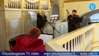 13.01.2020 Koncerts Līvānu katoļu baznīcā
