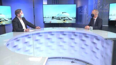 """Martins Gauss par valsts atbalstu """"airBaltic"""" pandēmijas laikā"""