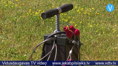 Līvānos uzstāda pirmās velosipēdu remonta stacijas
