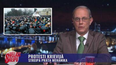 Streipa prāta mehānika: Protesti Krievijā