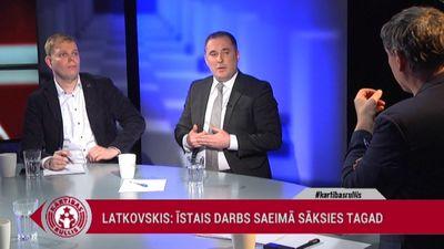 Šmits: 'KPV LV' lēmums atbalstīt Levita kandidatūru ir Kaimiņa privāts lēmums
