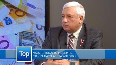 Daugavpils novada domes priekšsēdētājs par budžeta pieņemšanu pašvaldībā