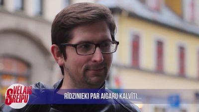 Iedzīvotāju viedokļi par Aigara Kalviša darbību Latvijas politikā