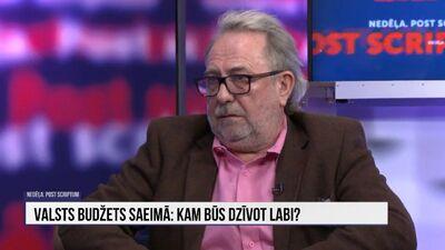 Pēteris Šmidre par 2022. gada valsts budžetu