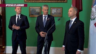 Prezidents valdības veidošanu uztic J. Bordānam