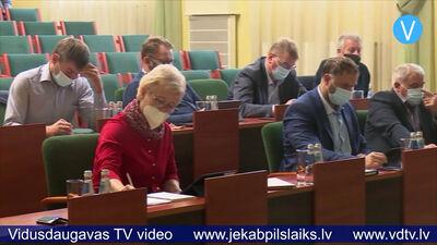Apstiprināta Jēkabpils novada pašvaldības struktūra un amatu saraksti